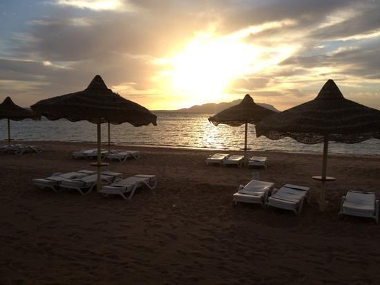 Baron Resort Sharm El Sheikh:                   sunrise