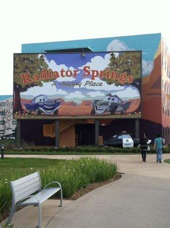 Disney's Art of Animation Resort:                   outside hotel building