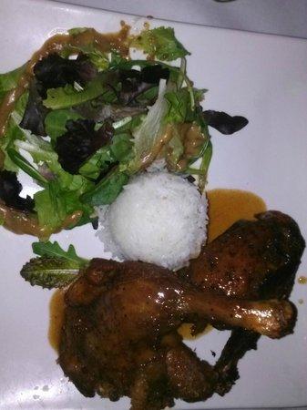 Blue Bamboo:                   1/2 Canton Roast Duck