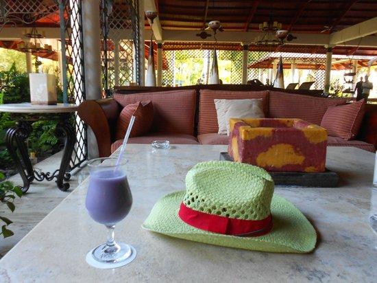 Espace salon du Paradisus Punta Cana