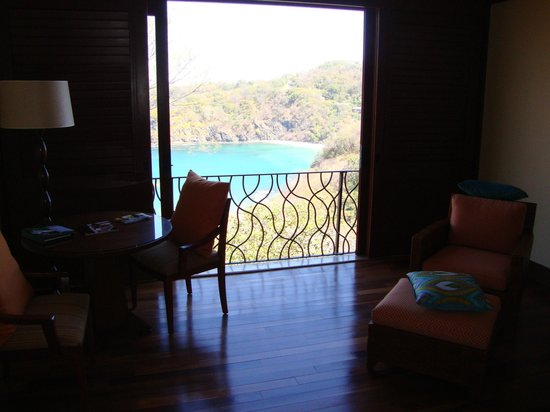 Four Seasons Resort Costa Rica at Peninsula Papagayo:                                     View from our bedroom