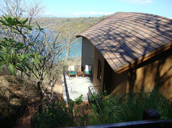 Four Seasons Resort Costa Rica at Peninsula Papagayo:                                     View of our villa