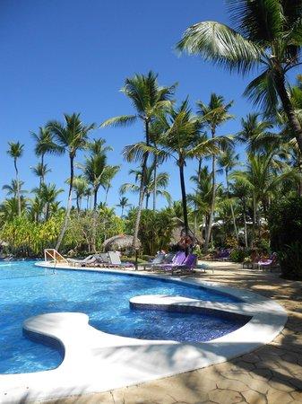 Piscine paysagée du Paradisus Punta Cana