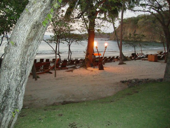Four Seasons Resort Costa Rica at Peninsula Papagayo:                                     Pacific Ocean beach