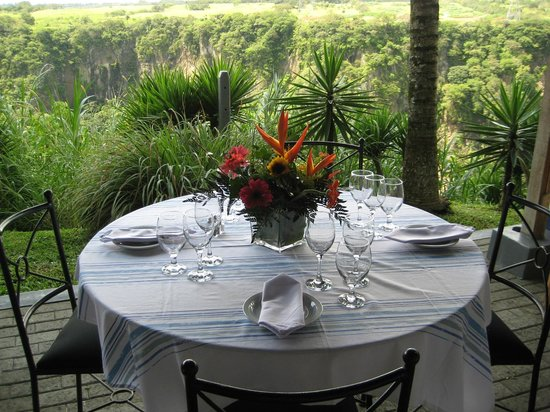 Vista Canyon Inn: Fine Dining with a million dollar view
