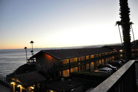 Shore Cliff Hotel: Blick vom Balkon