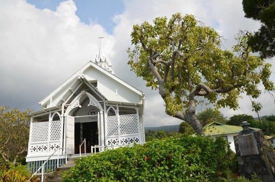 The Painted Church: Kirche von aussen