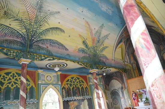 The Painted Church: schöne Malereien