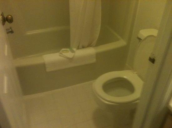 BEST WESTERN PLUS St. Simons:                   bathroom rm 108