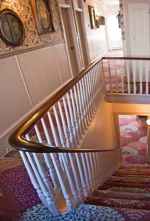 Carroll Villa Hotel:                   Hallway