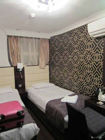 Hotel Edward Paddington : Chambre