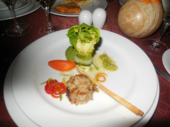 The Royal Playa del Carmen:                   An appetizer  - so beautifully prepared and tasty