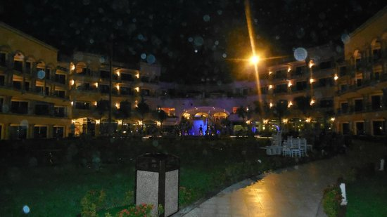 The Royal Playa del Carmen:                   Night pic of the resort