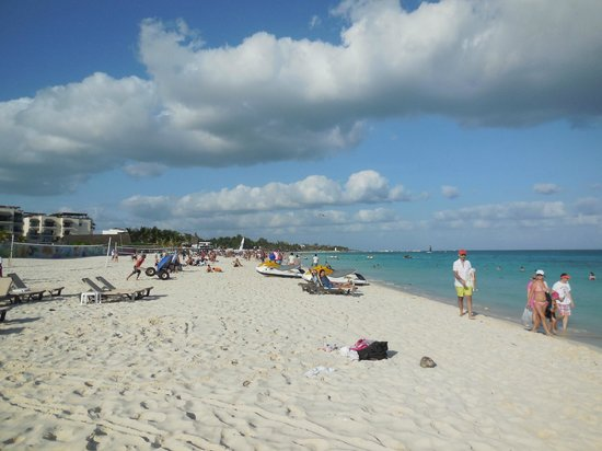 The Royal Playa del Carmen:                   The Beach