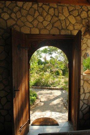 Tensing Pen Resort:                   doorway from Red Birch