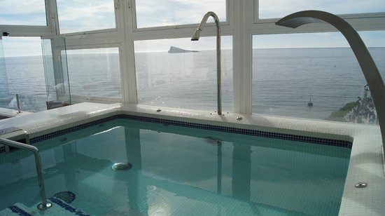 Villa Venecia Hotel Boutique:                   vista piscina hidromasaje