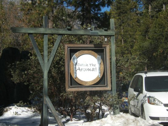Idyllwild, Californien:                   sign speaks for itself