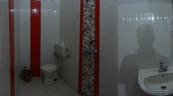 Shivam Tourist Guest House :                   salle de bain avec ballon d'eau chaude