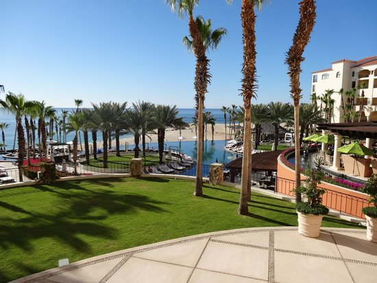 Hilton Los Cabos Beach & Golf Resort:                   View from the Blue Marlin terrace