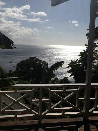 Stonefield Estate Resort :                   view from deck