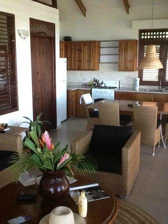Stonefield Estate Resort :                   kitchen, dinning room