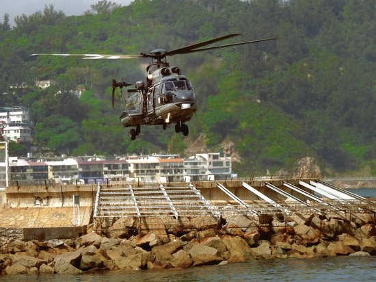 Cheung Chau Island:                   Air Ambulance