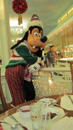 Hong Kong Disneyland Hotel: buffet