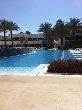 Hilton Luxor Resort & Spa:                   The infinity pool