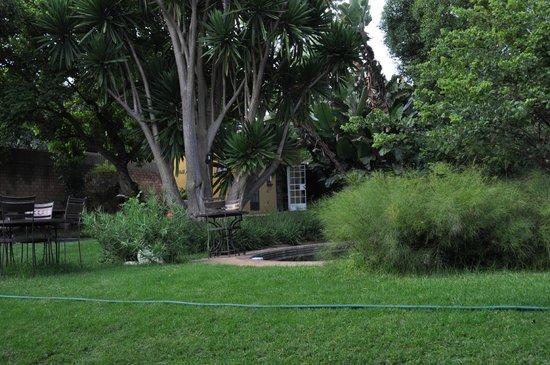 Jacana Gardens Guest Lodge:                   Grounds