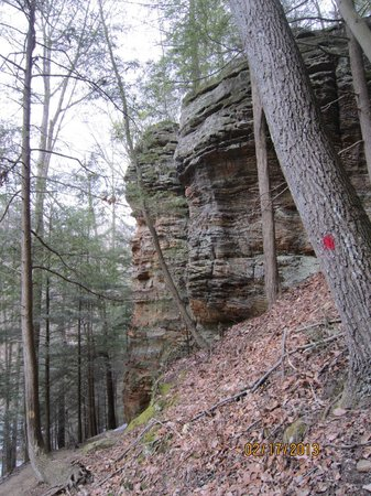 Cantwell Cliffs:                   At eastern rim area
