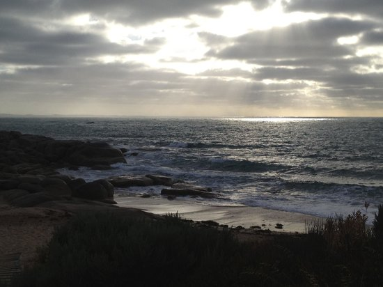 Port Elliot Holiday Park:                   Sunrise