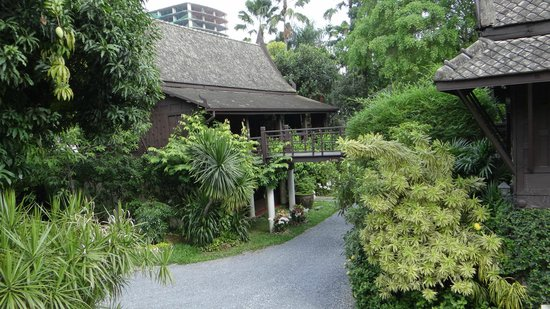 Suan Pakkad Palace Museum:                   the traditional houses