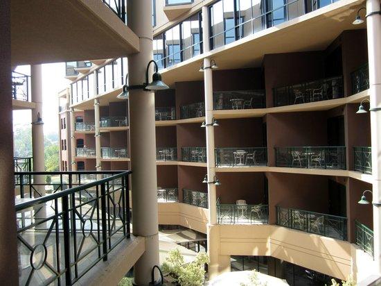 Amora Hotel Riverwalk Melbourne:                   View from my balcony