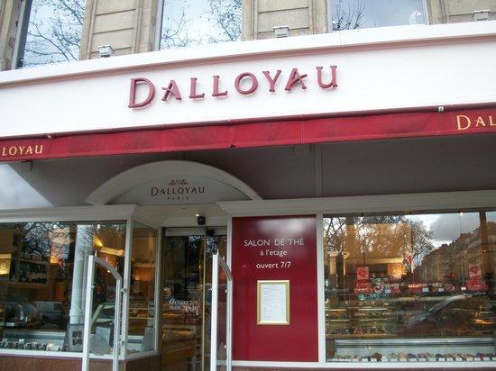 Dalloyau:                   Luxembourg store