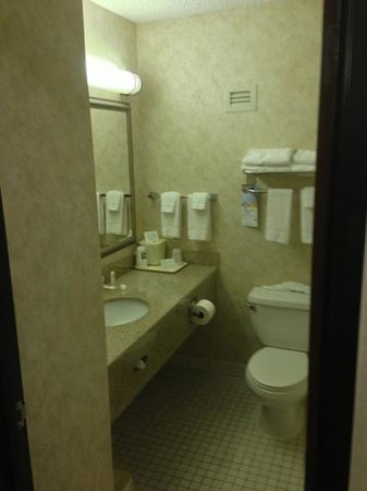 Quality Inn: bathroom 127