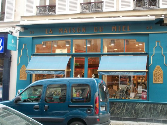 La Maison du Miel:                                     Best honey place in Paris