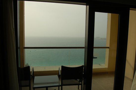 Amwaj Rotana:                   ocean view