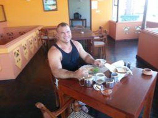 Blue Eyes Inn - Unawatuna:                   Breakfast make to order for me