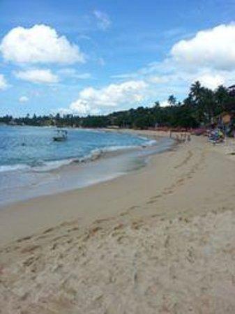 Blue Eyes Inn - Unawatuna:                   The beach not more than 200 feet away
