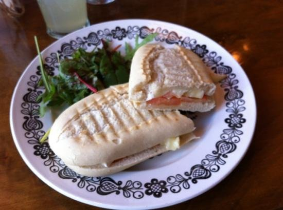 Where Memories Meet: Brie and tomato panini
