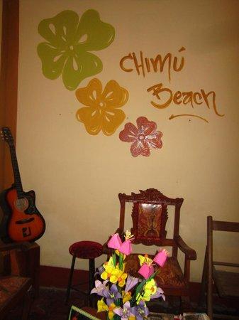 Chimu Beach: Sala de musica