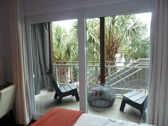 Truman Hotel:                   balcony