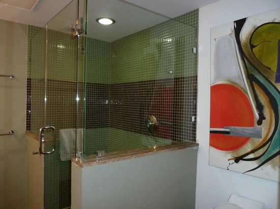 Truman Hotel:                   shower