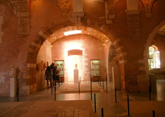 Inside - Picture of Chania Archaeological Museum, Chania ...