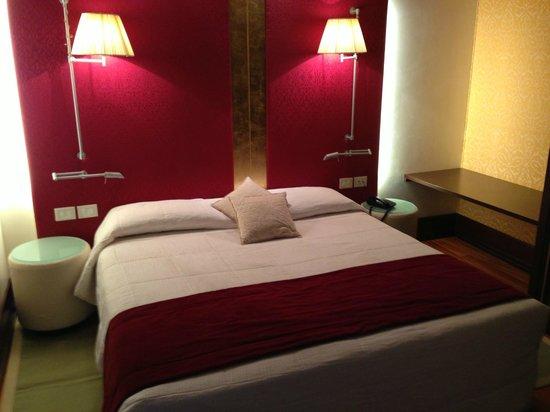 Hotel Palazzo Giovanelli:                   Bed