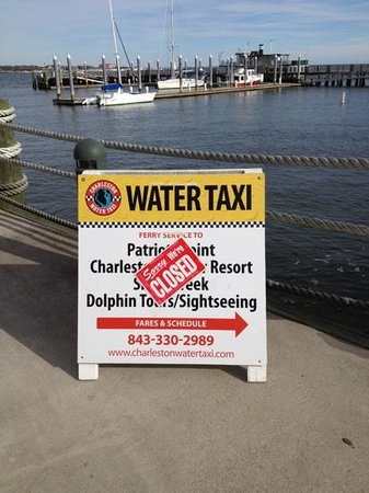 Charleston Water Taxi: this is what we saw