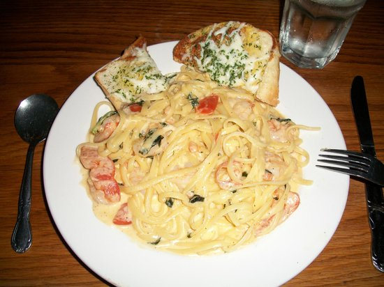 Proud Cut Saloon:                   Pasta with crab was amazing and made with real crab