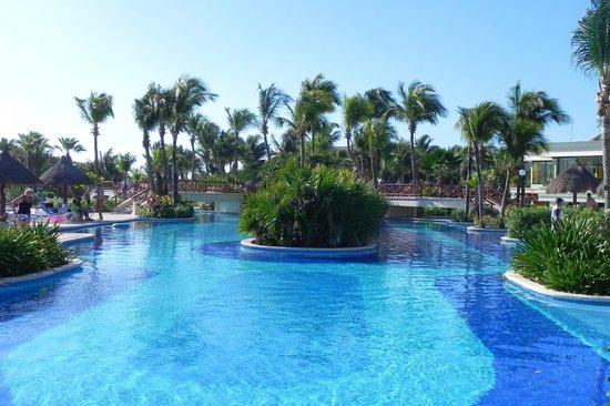 Grand Bahia Principe Coba:                   pool at Akumal