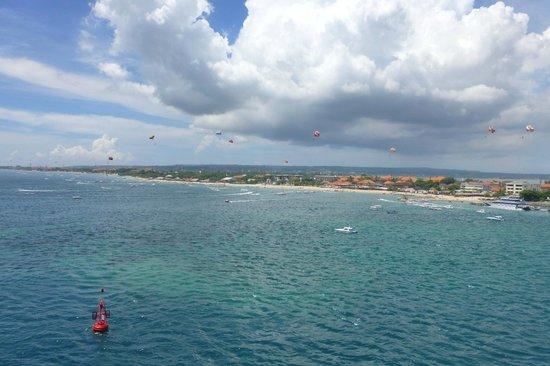 Four Seasons Resort Bali at Jimbaran Bay:                   View from the villa