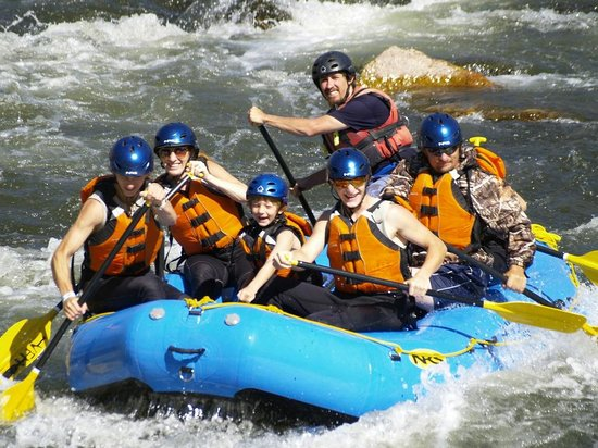 Cotopaxi, CO: Rafting is an adventure the whole family can enjoy together!